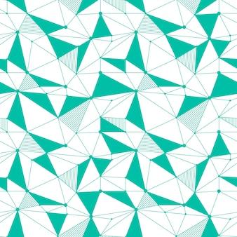 Geometrisch lijn naadloos patroon