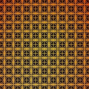 Geometrisch naadloos kubuspatroon met ruitenvierkant