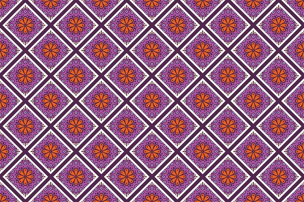 Geometrisch naadloos patroon, cirkelelement