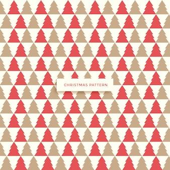 Geometrisch naadloos patroon. kerst voor wintervakantie ontwerp.