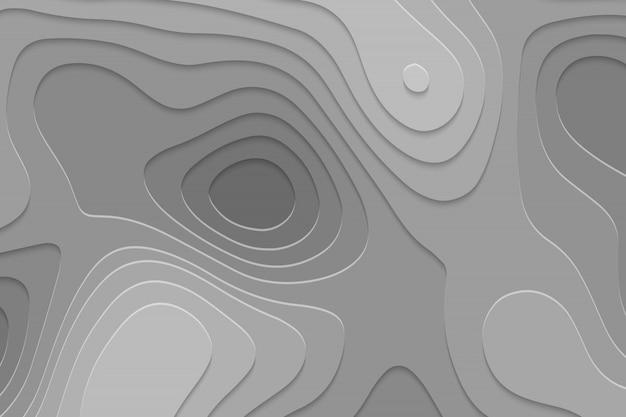 Geometrisch papier gesneden achtergrond