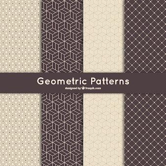 Geometrisch patroon collectie