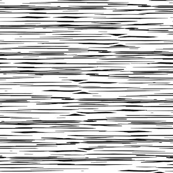 Geometrisch patroon met willekeurige strepen. chaotische ruwe textuur. vector illustratie