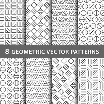 Geometrisch patroon pac