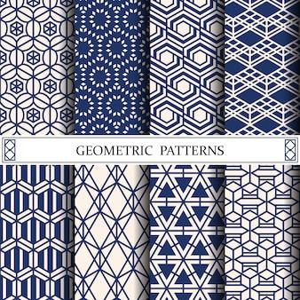 Geometrisch patroon voor webpagina-achtergrond of oppervlakte texturen