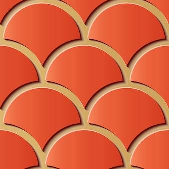 Geometrisch sier naadloos patroon