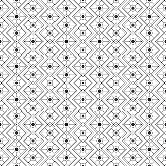 Geometrisch stammen naadloos patroonbehang als achtergrond