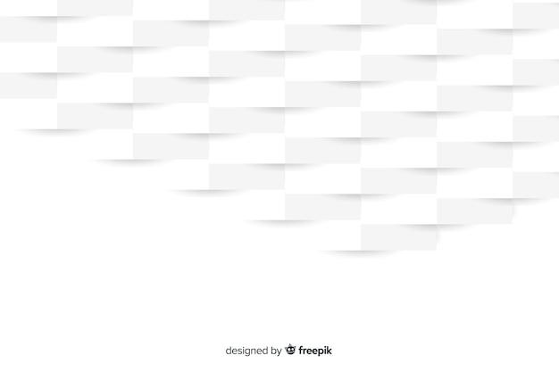 Geometrisch vormenconcept in papierstijl