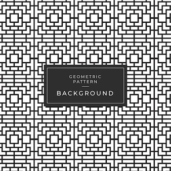 Geometrisch zwart-wit patroon