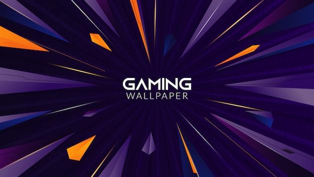 Geometrische abstracte gaming achtergrond