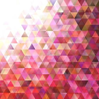Geometrische abstracte gradiënt driehoek achtergrond