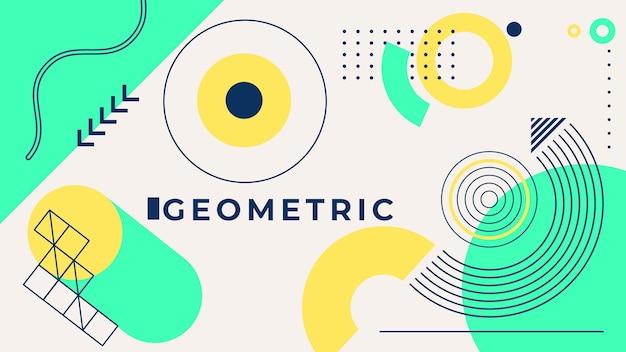 Geometrische achtergrond concept