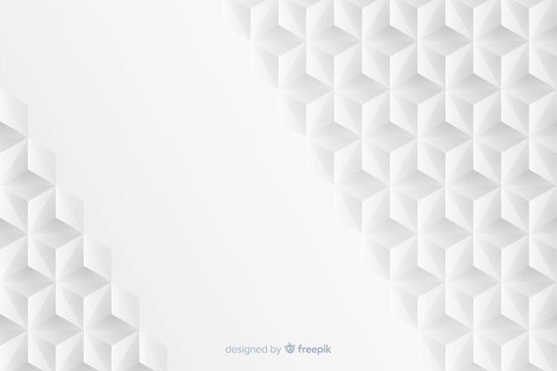 Geometrische achtergrond in papierstijl