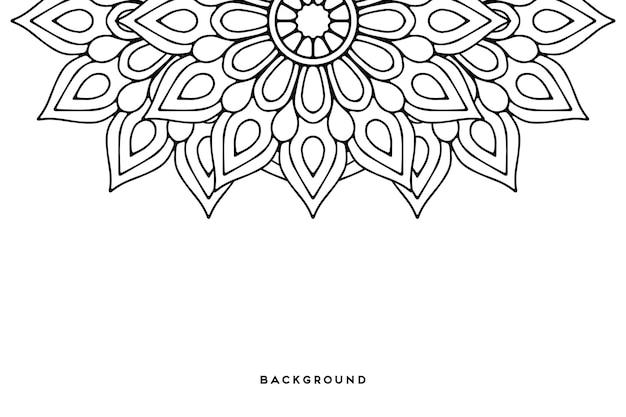 Geometrische achtergrond met cirkelelementen