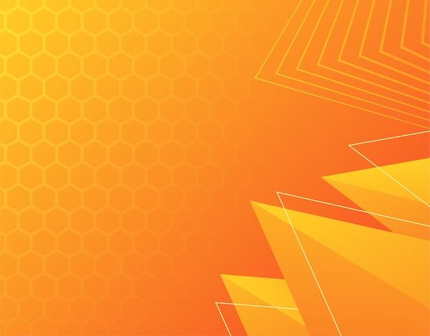 Geometrische achtergrond met kleurovergang, dynamische vormen, vectorillustratie
