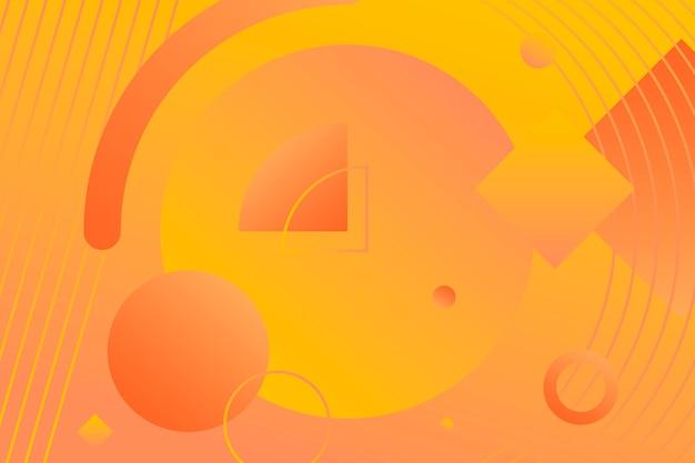 Geometrische achtergrond met kleurovergang