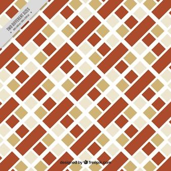 Geometrische achtergrond met vierkanten in verschillende kleuren