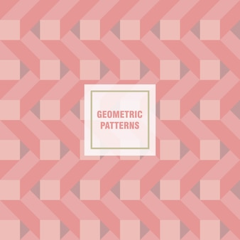 Geometrische achtergrond naadloos voor presentatie