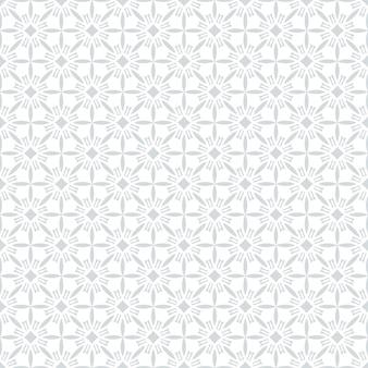 Geometrische arabische naadloze patroon