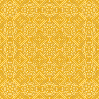 Geometrische batik naadloze patroon achtergrond.