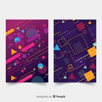 Geometrische dekkaartcollectie