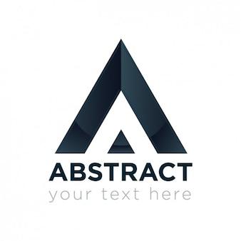 Geometrische driehoek logo