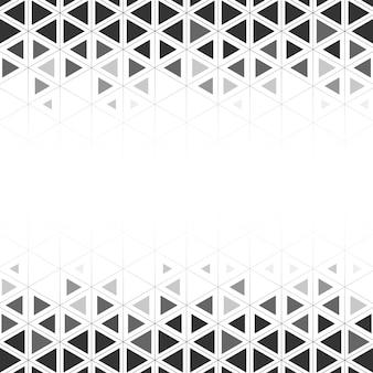 Geometrische driehoek patroon illustratie
