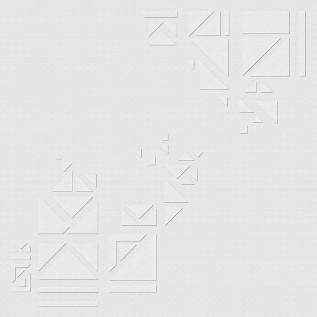 Geometrische driehoeken op een grijze achtergrondontwerpmiddelvector