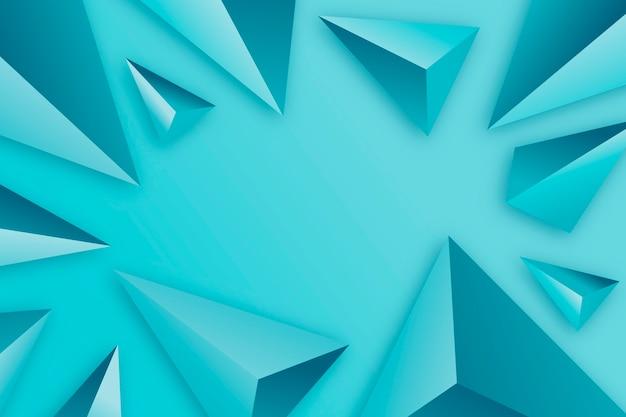 Geometrische driehoeksachtergrond met levendige kleuren