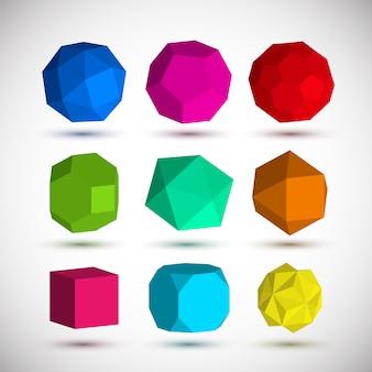 Geometrische elementen set