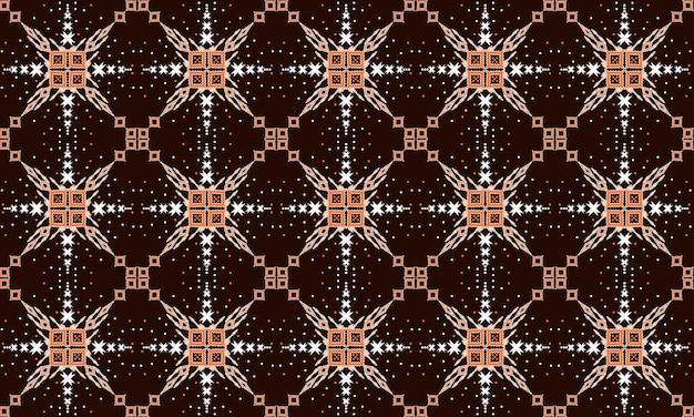 Geometrische etnische oosterse naadloze patroon traditioneel ontwerp voor achtergrond, tapijt, behang, kleding, verpakking, batik, stof, vector illustration.embroidery stijl.