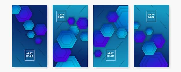 Geometrische flyer, banner ontwerpsjabloon