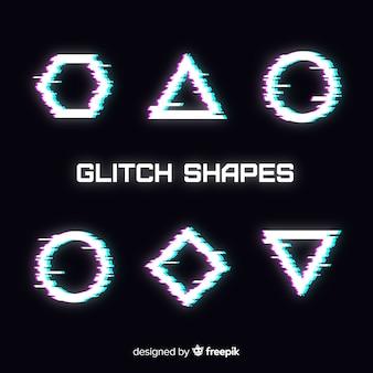 Geometrische glitch-verzameling