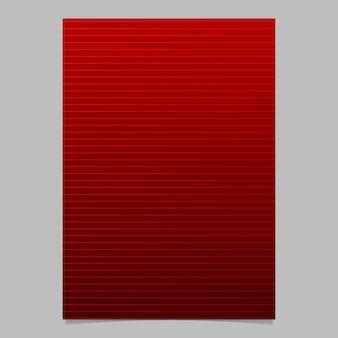 Geometrische gradiënt streep dekking