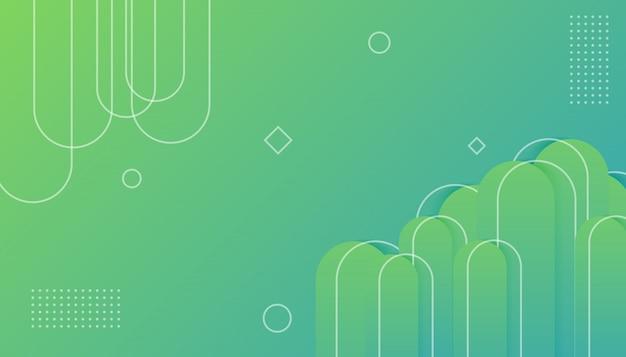 Geometrische kleurrijke achtergrond met kleurovergang
