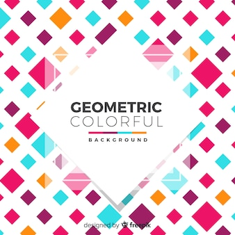 Geometrische kleurrijke achtergrond