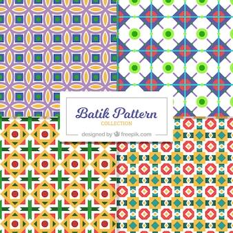 Geometrische kleurrijke patronen