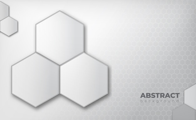 Geometrische medische concept grijze achtergrond