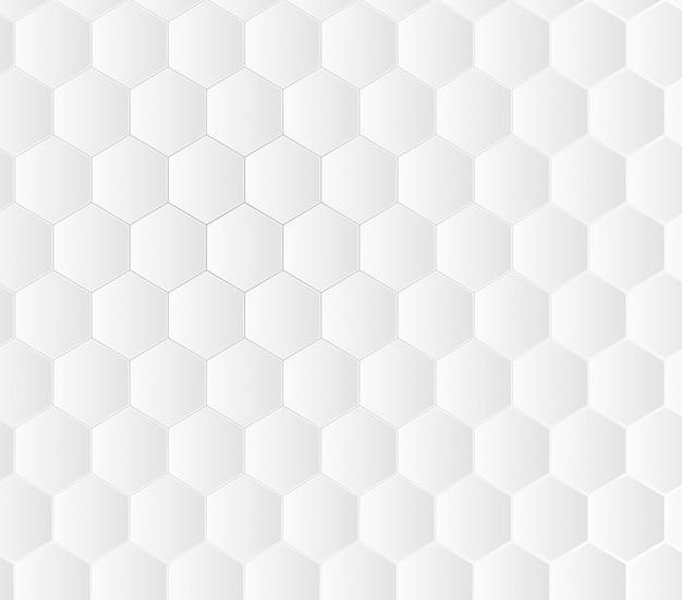 Geometrische medische concept witte achtergrond.