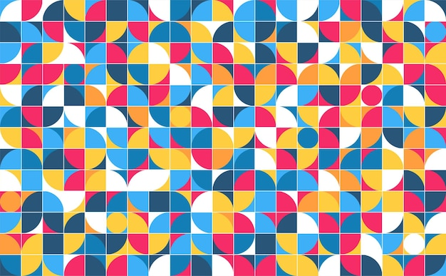Geometrische minimalistische minimalistische stijl art poster abstract patroon ontwerp in scandinavische stijl