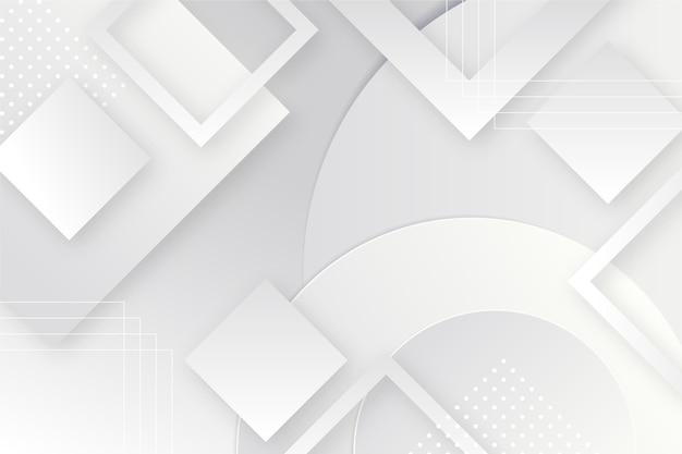 Geometrische monochrome achtergrondpapierstijl