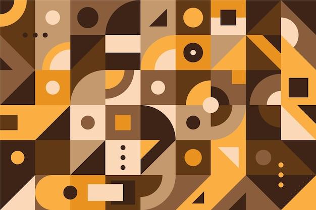 Geometrische muurschildering achtergrond