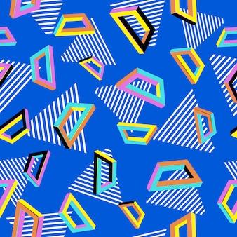 Geometrische naadloze abstracte achtergrond