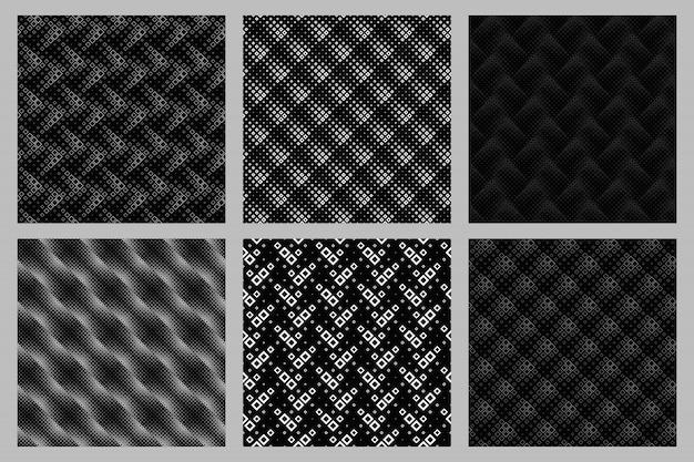 Geometrische naadloze diagonale vierkante patroonreeks