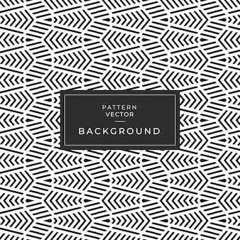 Geometrische naadloze patroon abstracte lijndriehoek