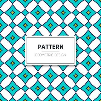 Geometrische naadloze patroon