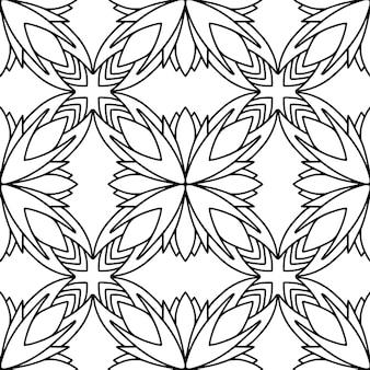 Geometrische naadloze patroon.