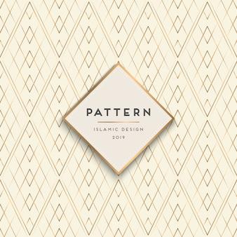 Geometrische naadloze patroonachtergrond