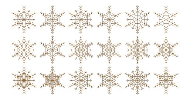 Geometrische ontwerpelementen op basis van japanse ornament kumiko.