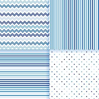 Geometrische overzeese patroon naadloze vectorreeks